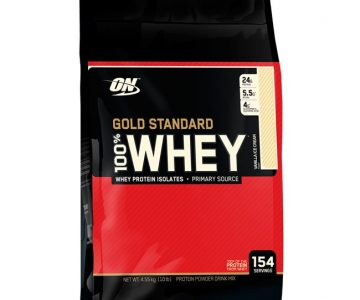 100% Whey Gold Standard 10lbs (4.5kg) – Optimum Nutrition com Desconto na Monster Suplementos