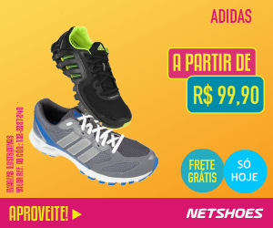 Tenis Adidas por RS$99 com frete gratis