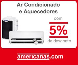 Ar Condicionado com 5% de desconto