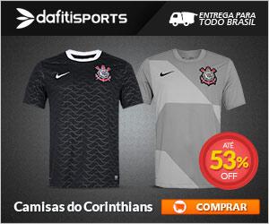 Camiseta Oficial do Corinthians Timao