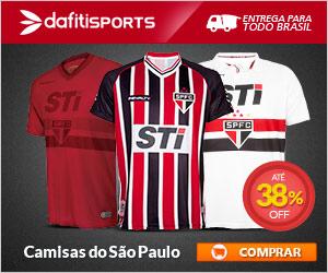 Camiseta Oficial do Sao Paulo SPFC