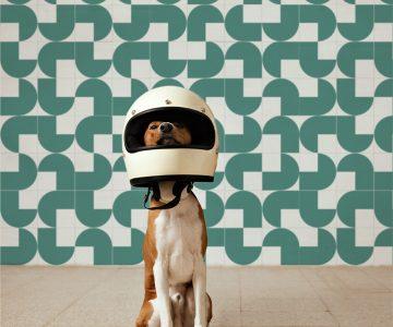 Azulejo Quadrado Modelo Helmet Estúdio Mosaico com Desconto na Hometeka