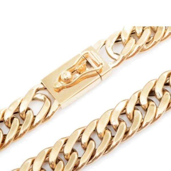 Corrente em Ouro 18k Groumet Grossa de 1cm com R$2000 de Desconto 02 Detalhe