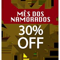 Especial Dia Dos Namorados Fábrica do Ouro – 30% de Desconto