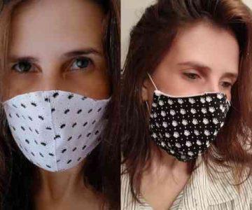 Kit Máscara de Proteção Respiratória Individual Reutilizável