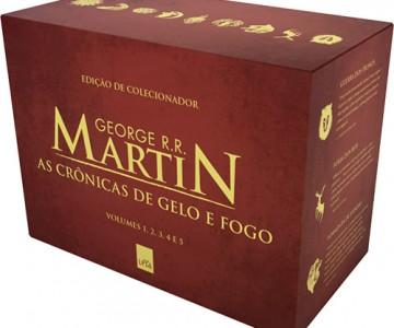 Livro Box As Cronicas de Gelo e Fogo Edicao Pocket Limitada 5 Volumes  em oferta no Submarino