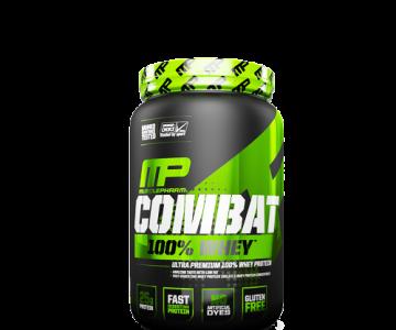Combat 100% Whey – 907g – MusclePharm com Desconto na Monster Suplementos