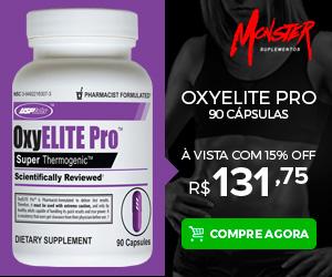 OxyElite Pro com Desconto 3 Unidades