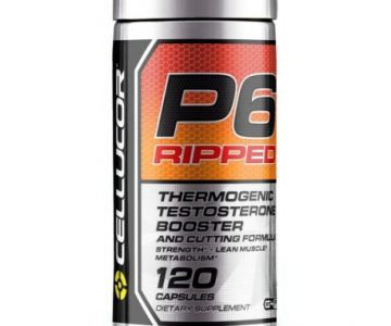 P6 Ripped (120 caps) – Cellucor com mais de R$100 de Desconto na Monster Suplementos