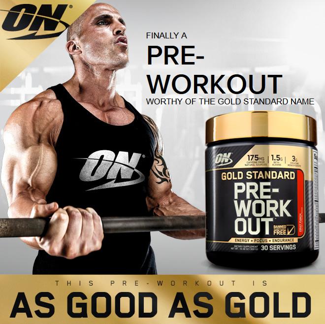 Pre Workout Gold Standard