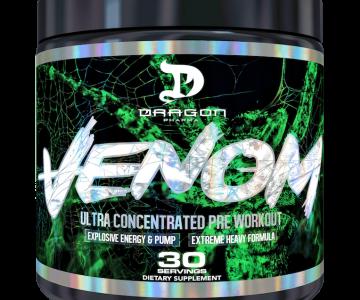 Venon Pré Treino Dragon Pharma com desconto na Monster Suplementos