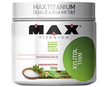 Xylitol Thin – Max Titanium com Desconto na Monster Suplementos 🤩