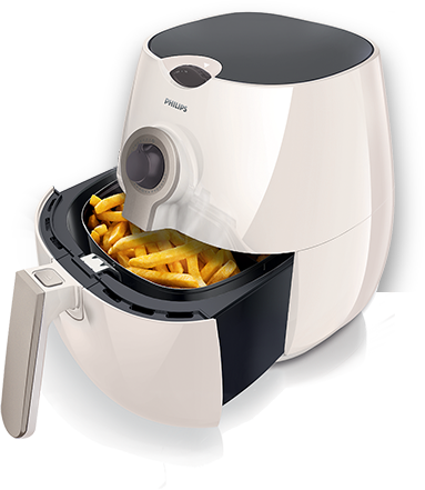 how to turn on philips air fryer
