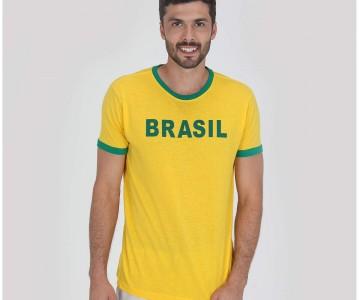 Camiseta de Torcedor Selecao Brasileira de Futebol em oferta