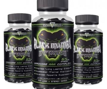 Combo Black Mamba 3 Unidades Hyperrush com Desconto na Monster Suplementos