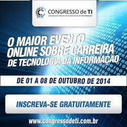 1º Congresso Online de Tecnologia da Informação (TI) – Acesso Master