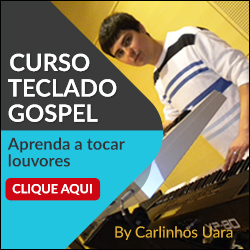 Curso de Teclado Gospel de Carlinhos Uara em 20 passos