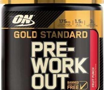 Pre Workout Gold Standard 30 doses – Optimum Nutrition com Desconto na Monster Suplementos