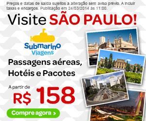 Passagens Aereas, Hoteis e Pacotes para Sao Paulo