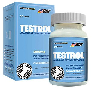 Testrol 60 Cápsulas GAT com Desconto na Monster Suplementos