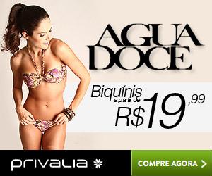 Biquinis Agua Doce a partir de R$19,90
